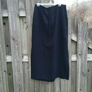 New York & Co. Maxi Skirt with Side Slits